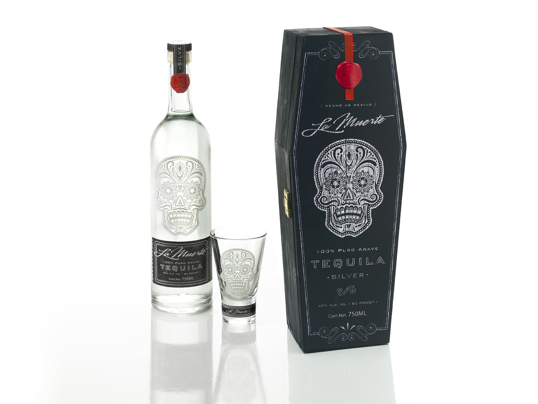 tequila packaging prototype