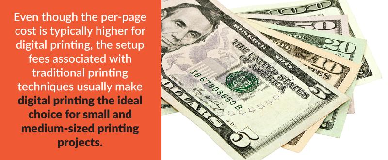 Digital Printing Fees