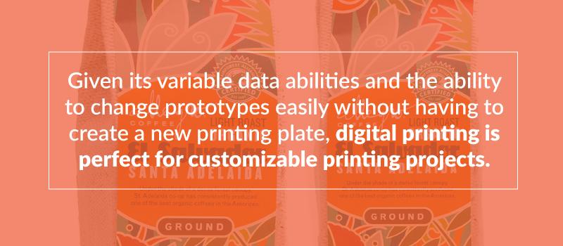 Custom printing projects