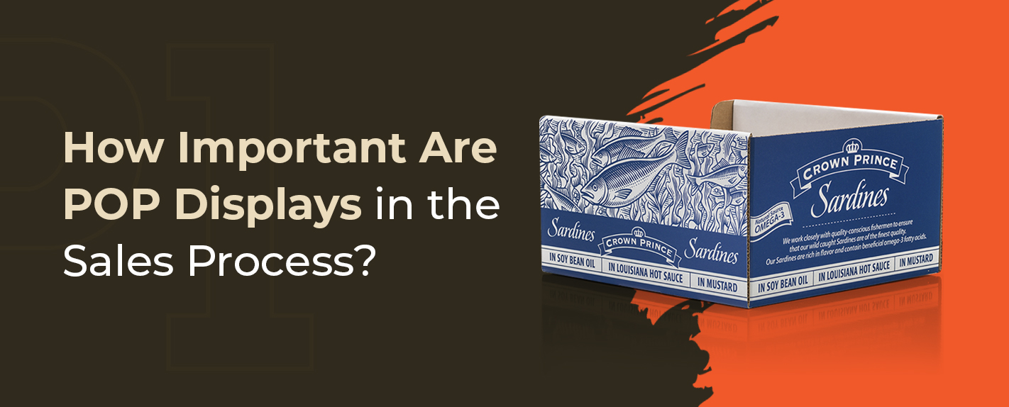 How Important Are POP Displays in the Sales Process? - Graphic